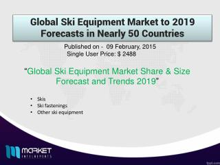 Global Ski Equipment Market 2008 - 2019
