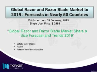 Global Razor and Razor Blade  Market with business strategies and analysis to 2019