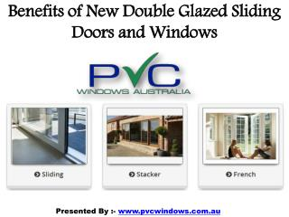 The Benefits of Double Glazed Sliding Doors and Windows