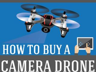How To Buy A Camera Drone