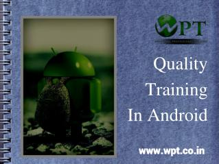 Get 45 Days Best Training In Android Mohali, Chandigarh