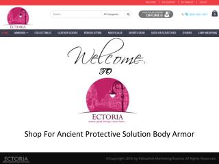 Shop For Ancient Protective Solution Body Armor - Ectoria