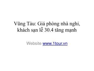 danh sach khach san vung tau