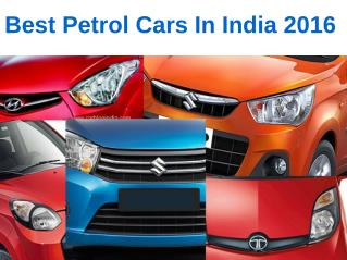 5 Best Petrol Cars in India 2016