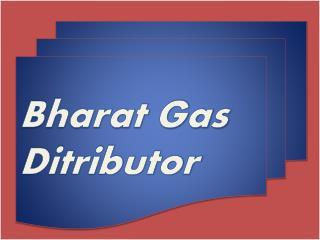 bharat gas distributor
