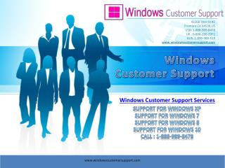 Windows 10 Customer Service Number