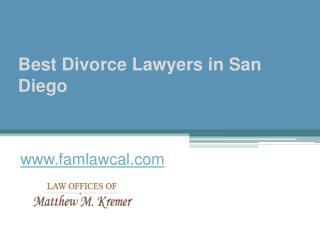 Best Divorce Lawyers in San Diego - www.famlawcal.com