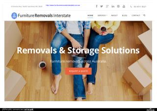 Best Furniture Removals Interstate in Australia