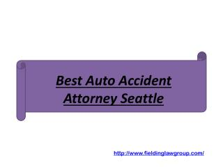 Best Auto Accident Attorney Seattle