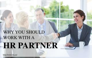 Benefits of working with a HR partners