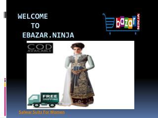 Online Designer Salwar Suits - Ebazar.Ninja