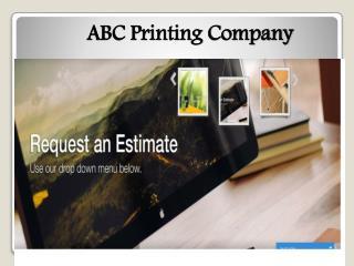 print company Chicago