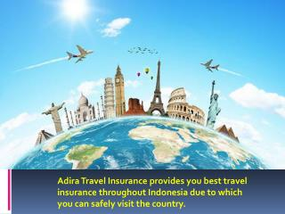 Adira - The Best Travel Insurance Provider