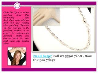 Solid Silver Bracelets for Sale