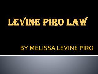 LEVINE PIRO LAW