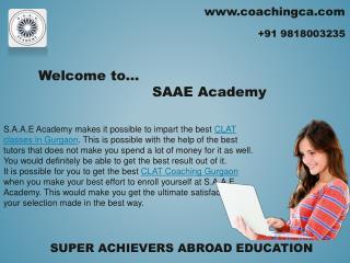 Get perfect tutors for CAT Coaching Gurgaon