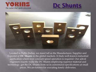 DC Shunts