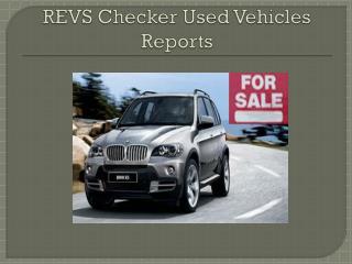 Revs Check Nsw