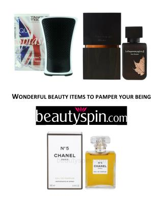 WONDERFUL BEAUTY ITEMS TO PAMPER YOUR BEING