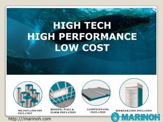 Marinoh Green polyol Insulation