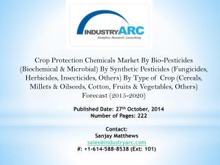 Crop Protection Chemicals Market aided by increasing cases of damage caused to plant health by use of chemical promoters