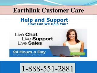 Earthlink customer care | 1-888-551-2881