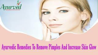 Ayurvedic Supplements To Remove Pimples