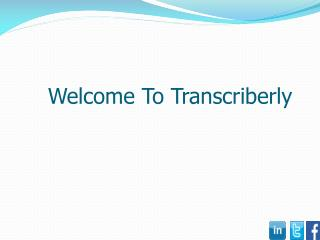 Competitive Transcription Service Rates