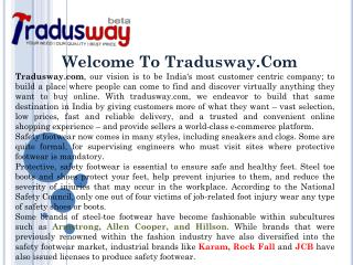 Buy Safety Shoes on Tradusway.com
