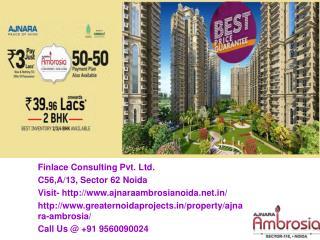 Ajnara Ambrosia Sector 118 Noida Call@ 9560090024