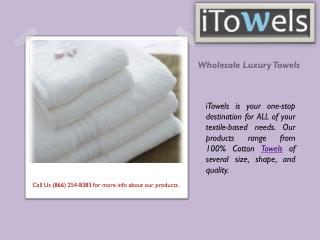 Luxury Towels Wholesale - itowels.com
