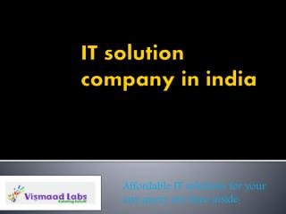 IT company in India