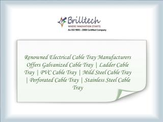 Pvc Cable Tray Manufacturers