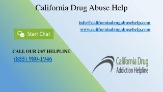 California Drug Addiction Helpline