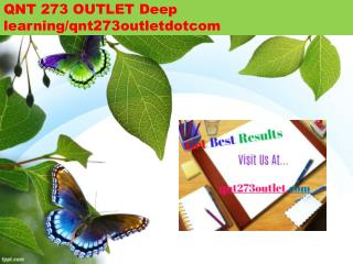 QNT 273 OUTLET Deep learning/qnt273outletdotcom