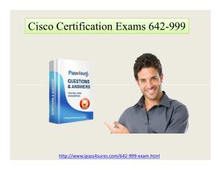 Pass4sure 642-999 CCNP Data Center