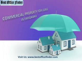 Commercial Property for lease in Faridabad