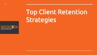 Top Client Retention Strategies
