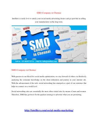 SMO Company in Chennai