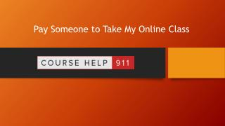 Take My Online Class: Why Should You Hire Us