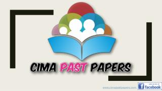 Cima Past Papers