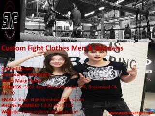 Custom Fight Clothes Men & Womens