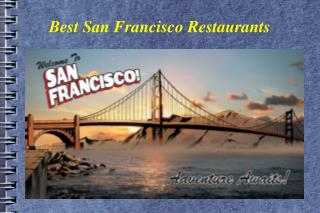 Best San Francisco Restaurants