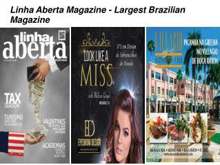 Brazilian magazine in the USA