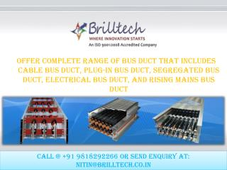 Plug-in Bus Duct Manufacturers
