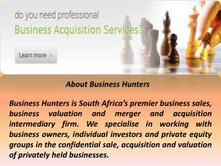 Business Hunters International (Pty) Ltd