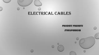 Electrical Cables Online