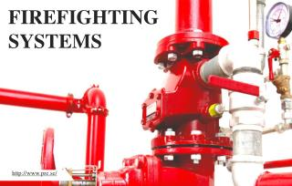 Fire fighting systems for protection of workplaces