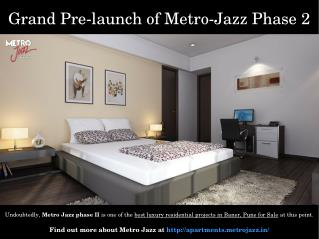 Residential Property in Metro Jazz phase II Baner Pune for Sale