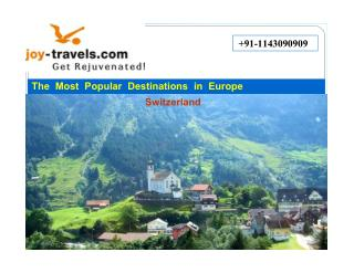 All inclusive Best vacations places in Europe